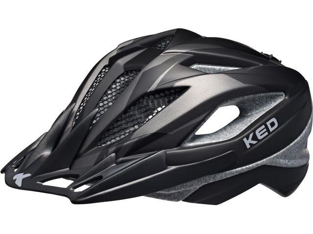 KED Street Pro Helmet Junior Black Anthracite Matt